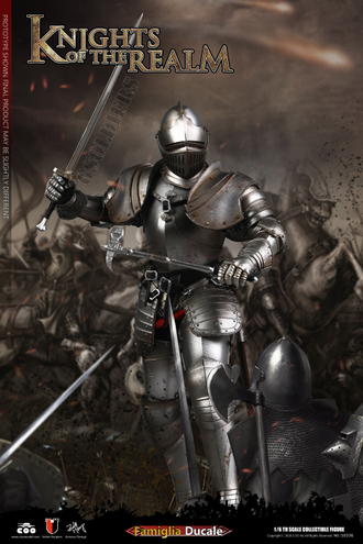 Рыцарь 1/6 scale Action figure SERIES OF EMPIRES KNIGHTS OF THE REALM FAMIGLIA DUCALE SE036 COOMODEL