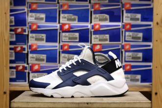 Nike Air Huarache White-Navy