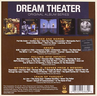 Dream Theater - Original Album Series 5-CD BOX