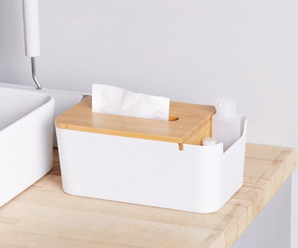 Органайзер Xiaomi Orange House Bamboo Fiber Tissue Box