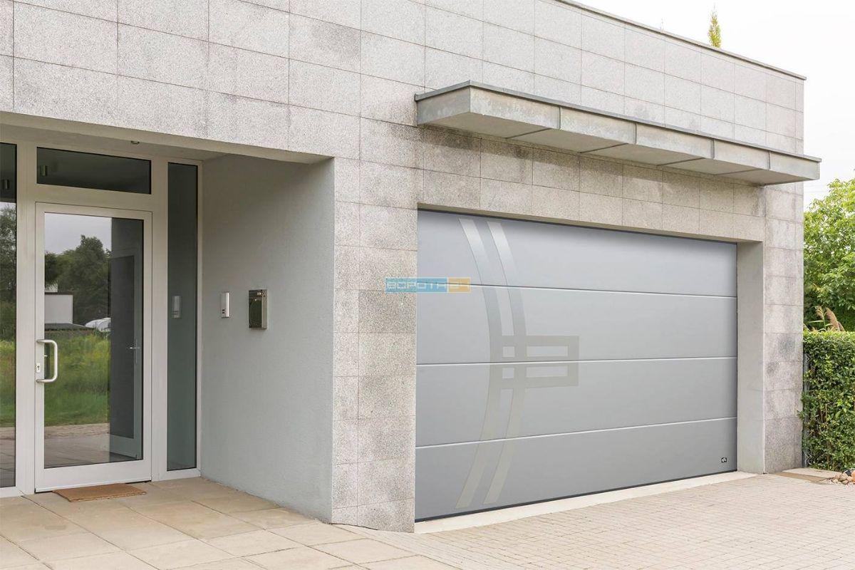 теплые ворота на гараж - производство гаражных ворот - Литва-Польша-Украина
