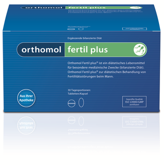 Orthomol Fertil plus / Ортомол Фертил плюс 30 дней (таблетки/капсулы) 27/03/2022