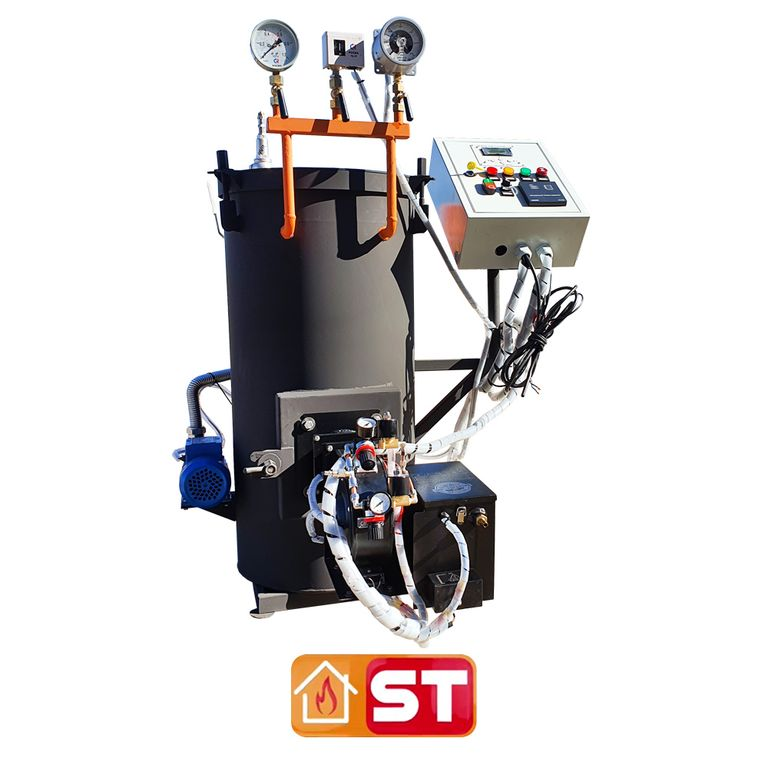 Парогенератор на жидком топливе NOVOPAR 70 кг 2