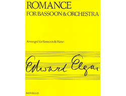 Elgar, Edward Romance op.62 : for bassoon and piano