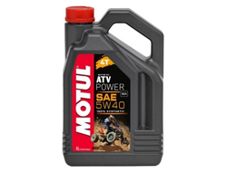 Масло для квадроцикла Motul ATV Power  5W40 4T (Синтетика) - 4Л (105898)