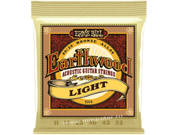 Ernie Ball P02004 Earthwood Light (11-52)