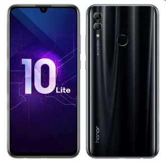 Смартфон Honor 10 Lite 3/64GB+64GB=128GB Midnight Black (HRY-LX1) EAC NFC