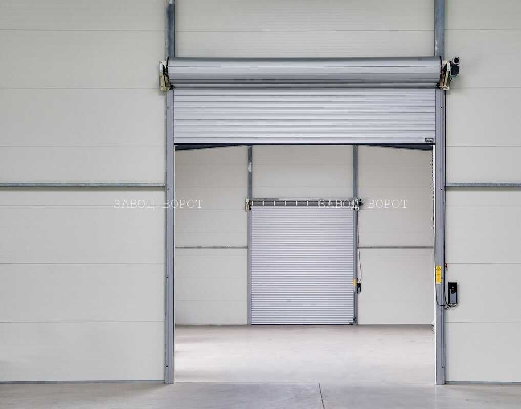 роловые ворота для гаража с автоматикой