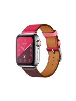 Купить Apple Watch Hermès S4 40мм with bordeaux/rose extreme/rose azalea swift в iStore-Moscow