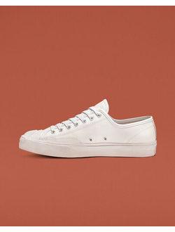 Кеды Converse Jack Purcell Leather белые