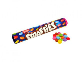 Конфеты Smarties Giant Tube 130 гр.