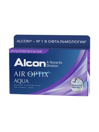 AIR OPTIX AQUA MULTIFOCAL (3 ЛИНЗЫ)