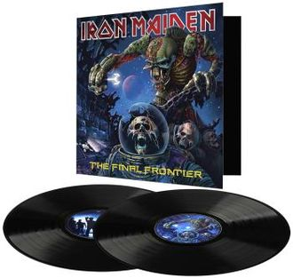IRON MAIDEN - The final frontier 2-LP