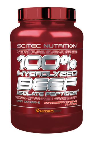 100% HYDROLYZED BEEF ISOLATE PEPTIDES 900 г