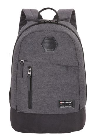 Рюкзак WENGER 13'', 5319424422, cерый, ткань Grey Heather/ полиэстер 600D PU, 32х16х45см, 22л