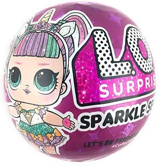 MGA Entertainment Кукла L.O.L. Surprise Sparkle Series Искрящаяся Лол, 559658