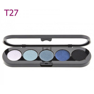 T27 Make-up Atelier Paris, Тени палитра 5 цветов