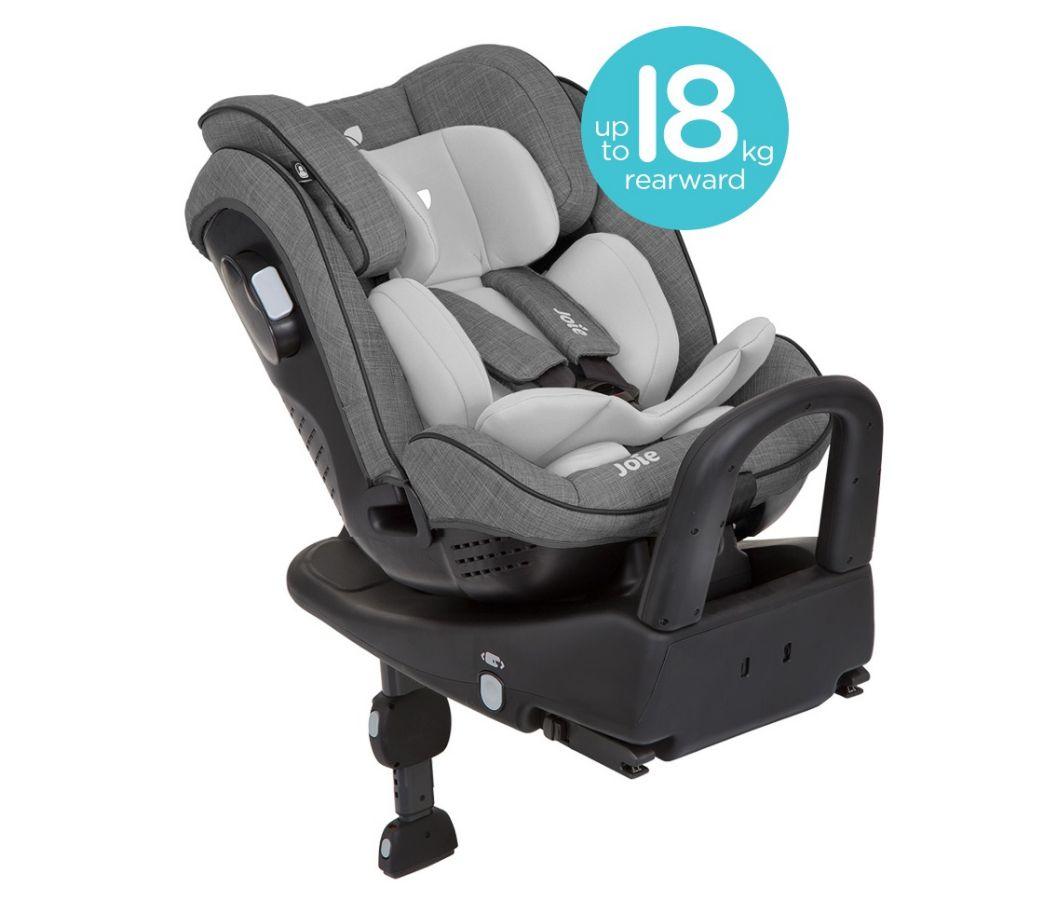 Трехуровневая защита ребенка за счет особенностей конструкции кресла: