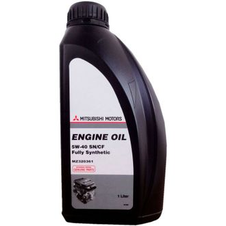 Масло моторное Mitsubishi ENGINE OIL 5W-40 1л MZ320361