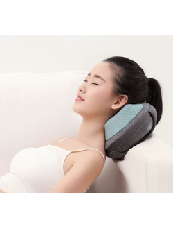 Массажная подушка Xiaomi Lefan kneading massage pillow серая