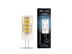 Gauss LED T10 4w 840 12v G4