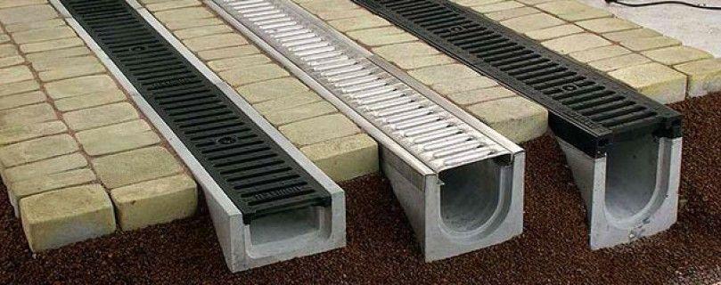 Лотки из бетона
