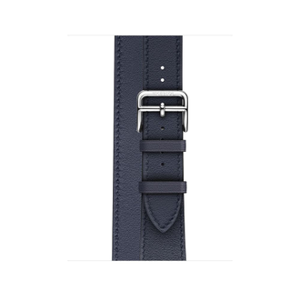 Apple Watch Hermès S4 40мм with indigo swift leather double tour