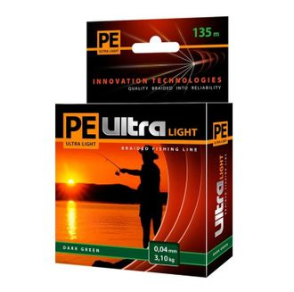 Плетенный шнур Pe Ultra Light Dark Green 135м
