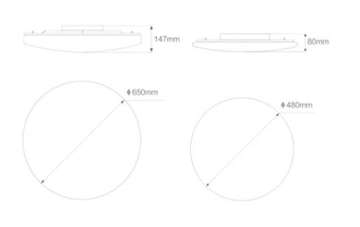 Лампа Xiaomi Yeelight LED Ceiling Lamp 480mm YLXD05YL