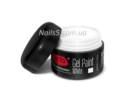 UV/LED Gel Paint 01 White PNB, 5 ml