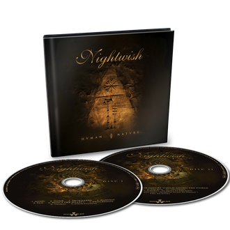 Nightwish Human.:II:Nature 2-CD DIGIBOOK