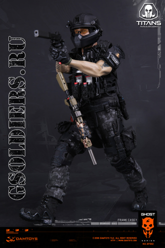 Коллекционная фигурка 1/6 GHOST SERIES - TITANS PMC - Frank Casey (SF002) - DAMToys