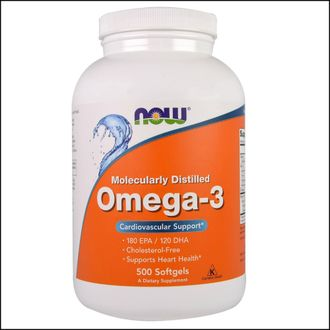 Омега 3 now Omega 3 500 softgels