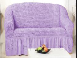 Чехол Стандарт на 2-х местный диван, цвет Лиловый