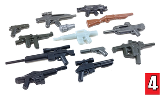BrickArms - Value Pack 4