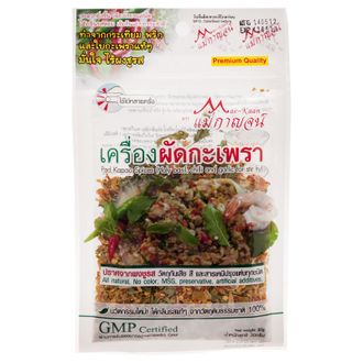 เครื่องผัดกะเพรา/Pad Kapao Spice (Holy basil, chilli and garlic for stir fry) 30 g