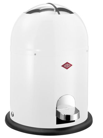 Мусорный контейнер Wesco Mini Master, 6 литров, белый