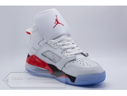 Кеды Air Jordan Mars 270 White/Red/Black мужские арт. N795