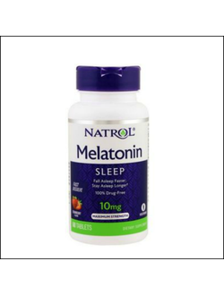 Мелатонин Natrol Melatonin 10mg 60tab