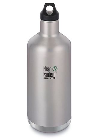 Термобутылка Klean Kanteen Insulated CLASSIC LOOP 1900 мл (64oz) Brushed Stainless