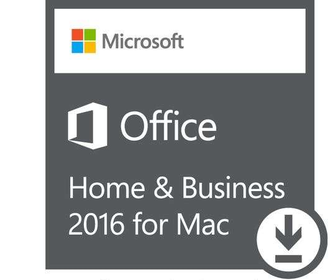 Microsoft Office 2016 Mac Home and Business AllLng Onln ESD W6F-00652
