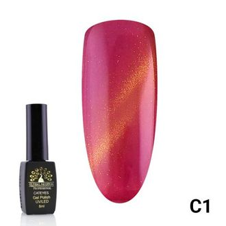 Гель-лак Global Fashion cat eye C1