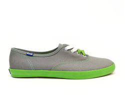 Кеды Keds Champion Grey/Green