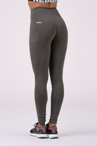Леггинсы High waist Fit&Smart leggings 505 Сафари