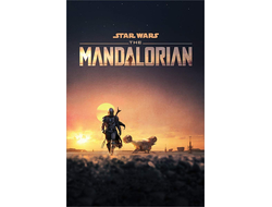 купить постер STAR WARS: THE MANDALORIAN (DUSK) PP34568