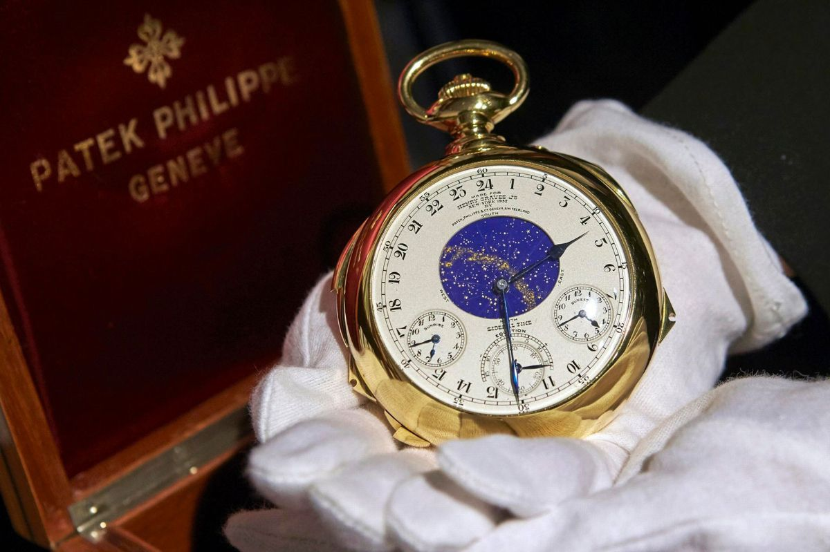 Patek Philippe Supercomplication Henry Graves - Ломбард часов Patek Philippe