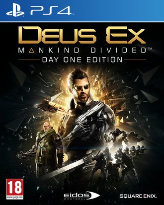 Купить PS4 Deus Ex: Mankind Divided day one edition (б/у)