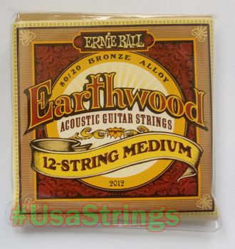 Ernie Ball 2012 11-52 Earthwood 80/20 Bronze