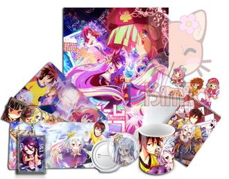 No Game No Life Anime Box