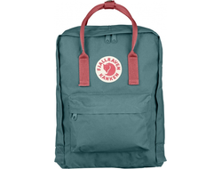 Рюкзак Fjallraven Kanken Frost Green/Peach Pink (Mini)